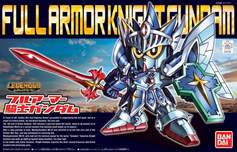 BB393 LEGEND BB FULL ARMOR KNIGHT GUNDAM