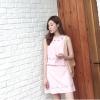 แฟชั่นเกาหลี set เสื้อ และกระโปรงน่ารักมากๆ