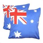 หมอนอิง ลายธงชาติอ Australia สวยๆ งามๆ ขนาด 18 x 18 นิ้ว ขายที่ละเป็นคู่