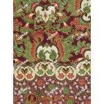 ผ้าถุงแม่พลอย mp0114 ตาล-เขียว