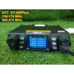 QYT KT-980 plus VHF UHF 136-174/400-480MHz จอแสดง 4 ช่อง 75W.