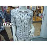 H 1207 เสื้อเชิ้ตแฟชั่นหญิง