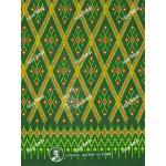 ผ้าถุงแม่พลอย mp2569 เขียว