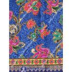 ผ้าถุงไซส์ใหญ่ mpx2587 สีน้ำเงิน