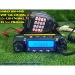 HIMAX HM-144D วิทยุสื่อสารโมบายติดรถ,ประจำที่ เครื่องดำ VHFมี ปท.