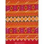 ผ้าถุงเอมจิตต์ ec10281A แดง