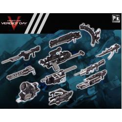 V.I. Series Armored Core V 1/72 Verdict Day Weapon Set