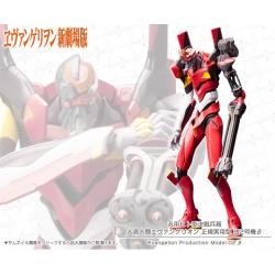 Rebuild of Evangelion 1/400 EVA-02 beta Plastic Model