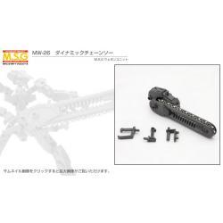 M.S.G Weapon Unit MW26R Dynamic Chainsaw