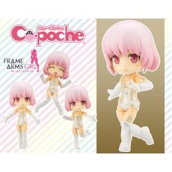 Cu-poche - Frame Arms Girl : Materia White Posable Figure