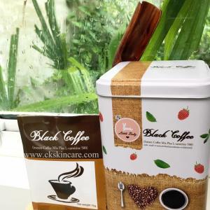 Black Coffee Mix Plus กาแฟดำสูตรหญ้าหวาน