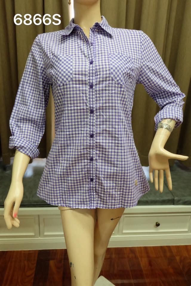 เสื้อเชิ้ตหญิง ( 6866S)
