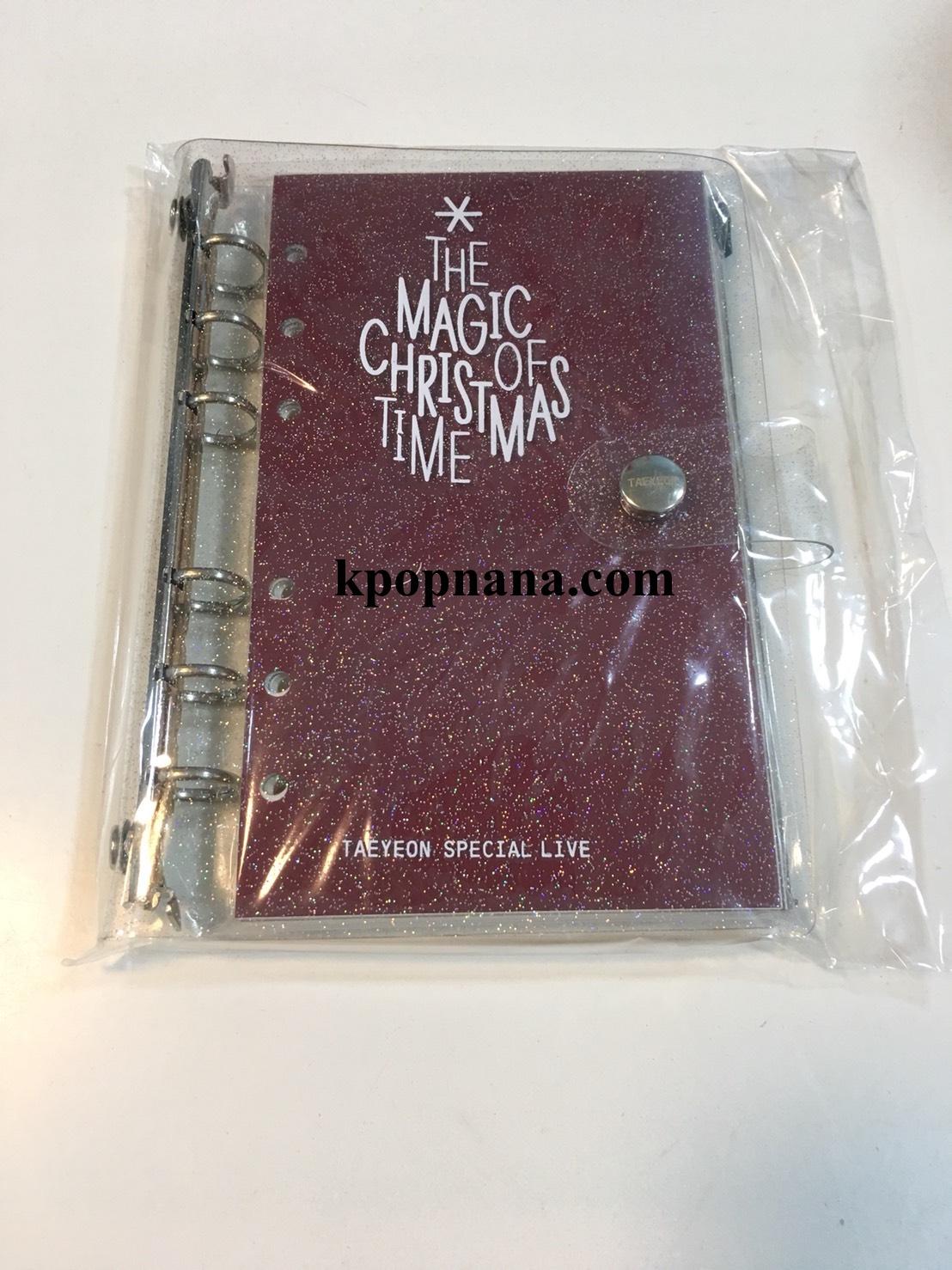 """ของหน้าคอน แทยอน TAEYEON SPECIAL LIVE """"The Magic of Christmas Time"""" -Diary &Sticker set พร้อมส่ง"""