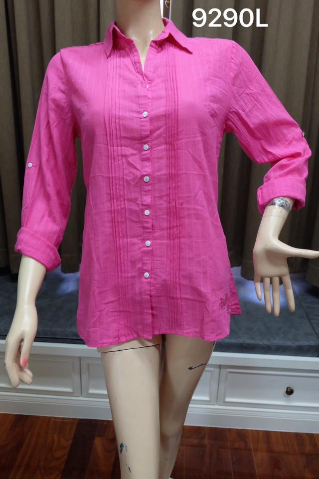 เสื้อเชิ้ตหญิง (9290L)