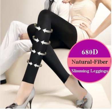 [สินค้าขายดี] ถุงน่องขาเรียวและเลคกิ้งขาเรียวความหนา 680D