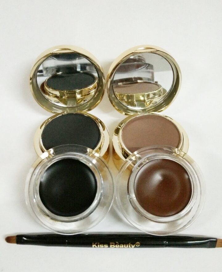 Kiss Beauty KBLINER Eyebrow and Gel Eyeliner 24H Lasting Waterproof