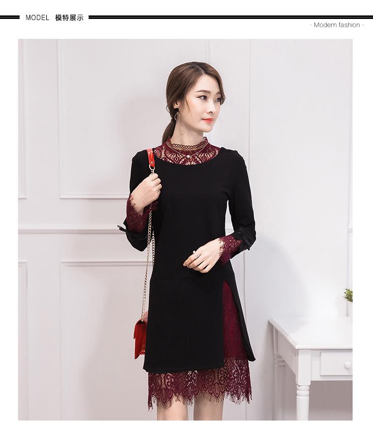 ชุดเดรสสีดำ ชุดสีดำ เดรสผ้าคอตตอนผสมเนื้อดี สีดำ สินค้าเป็นเดรสชิ้นเดียว
