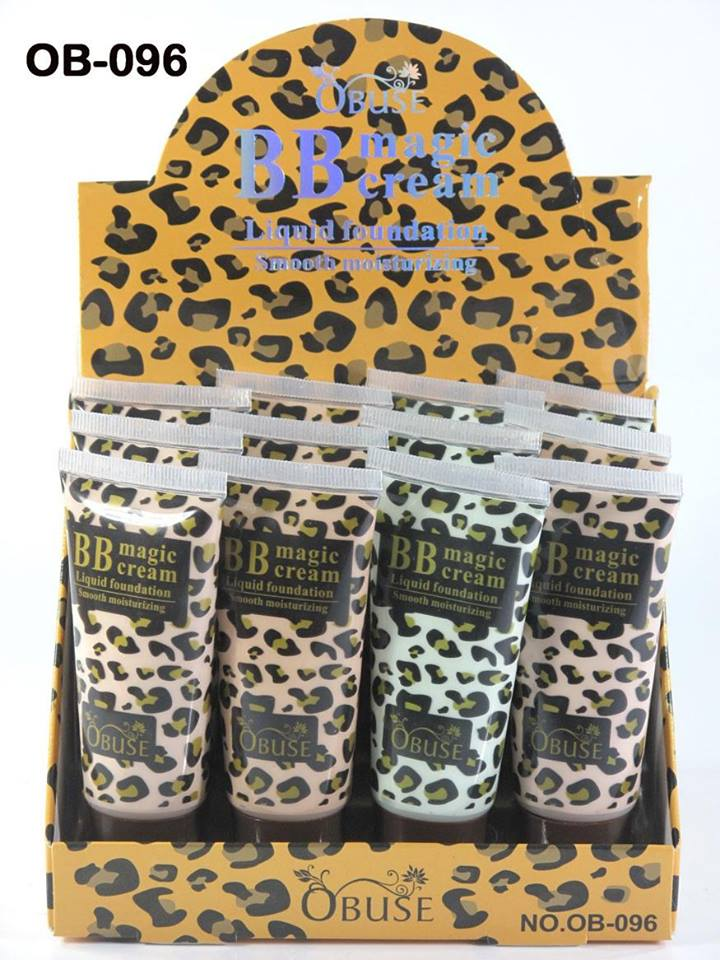 BB.cream 40 กรัมลายเสือ ขายดีที่สุดใน 3 โลก มีสีเนื้อและสีเบส เนื้อเนียน หน้าใสได้ในพริบตา เหงื่อออกแล้วไม่เป็นคราบ