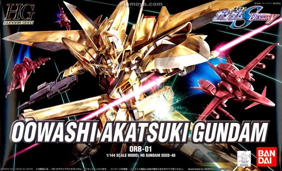HG 1/144 Oowashi Akatsuki Gundam