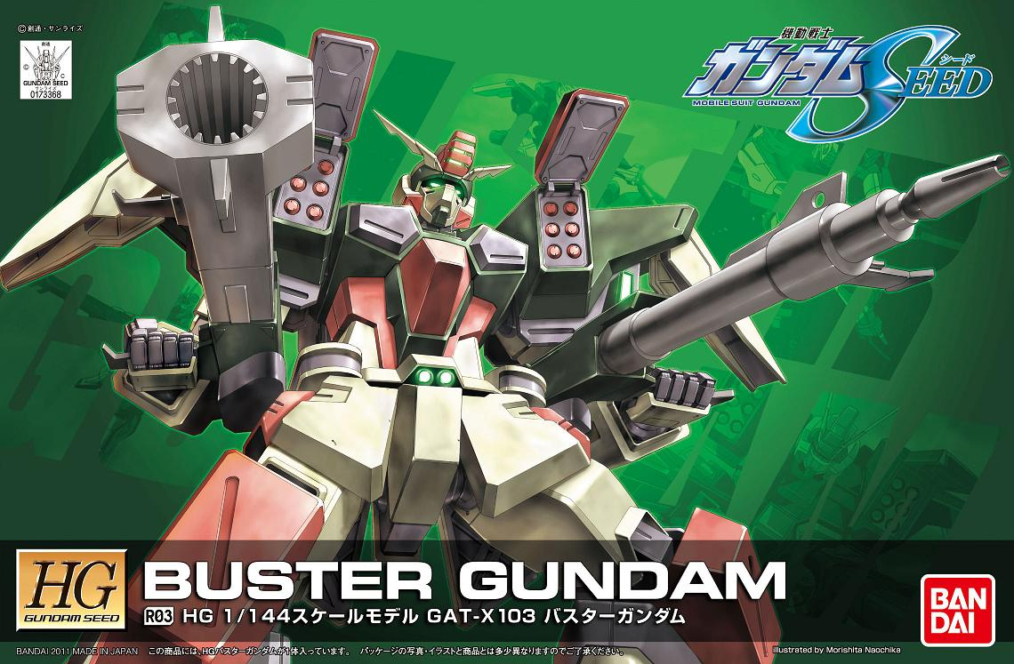 HG 1/144 R03 BUSTER GUNDAM