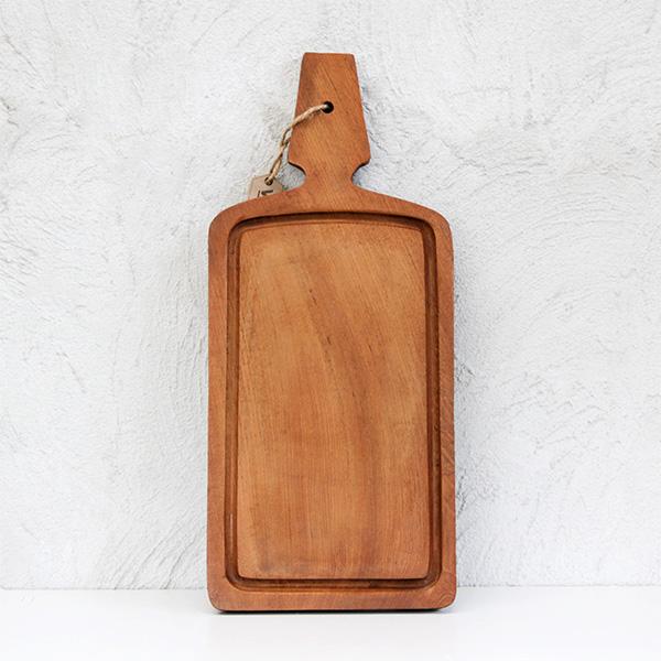 Rustic Wood Chopping board (L)