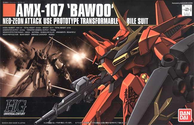 HG 1/144 AMX-107 BAWOO