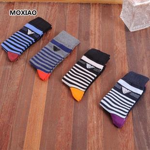 S368**พร้อมส่ง** (ปลีก+ส่ง) ถุงเท้าแฟชั่นเกาหลี ชาย ข้อยาว เนื้อดี งานนำเข้า(Made in china)
