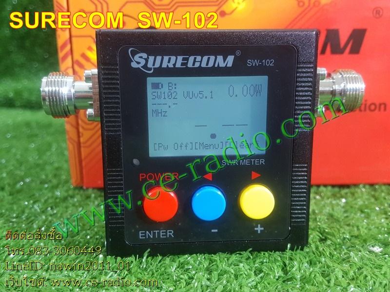 Surecom SW-102 Digital Power Meter & SWR Meter & Frequency Counter