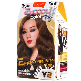 Lolane Z-Cool Color Milk Y2 English Breakfast Tea