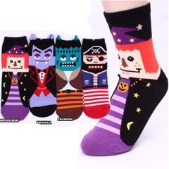 A039**พร้อมส่ง**(ปลีก+ส่ง) ถุงเท้าแฟชั่นเกาหลี ข้อสูง มีหู มี 4 แบบ เนื้อดี งานนำเข้า( Made in Korea)