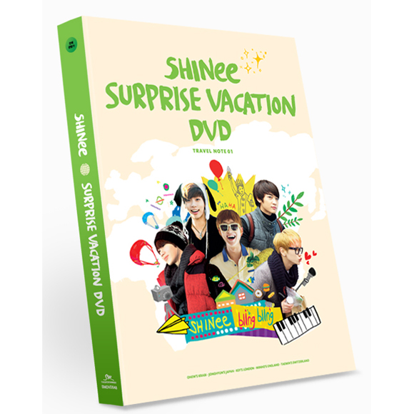 [DVD] SHINee - SHINee Surprise Vacation DVD (6DVD + Pouch)