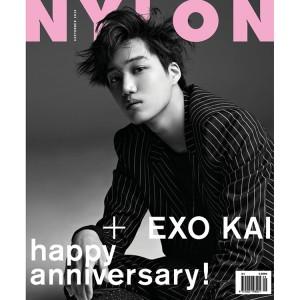นิตยสารเกาหลี NYLON : September 2015 หน้าปก KAI exo