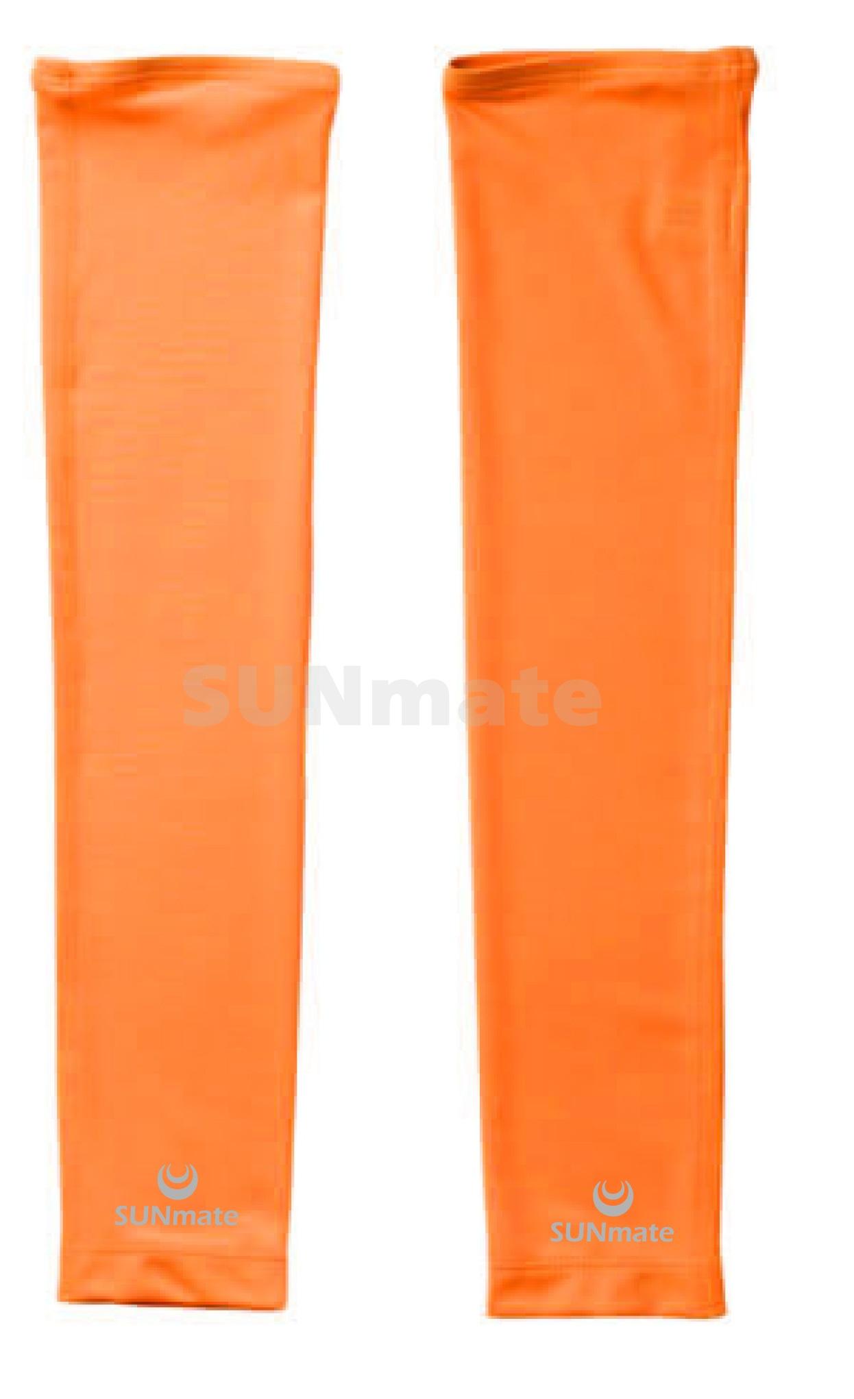 ปลอกแขนกัน UV size M : Orange modern
