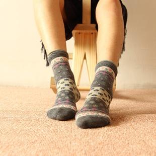 S246**พร้อมส่ง** (ปลีก+ส่ง) ถุงเท้าแฟชั่น สไตล์ ญี่ปุ่น ข้อยาว คละ 5 สี มี 12 คู่ต่อแพ็ค เนื้อดี งานนำเข้า(Made in China)