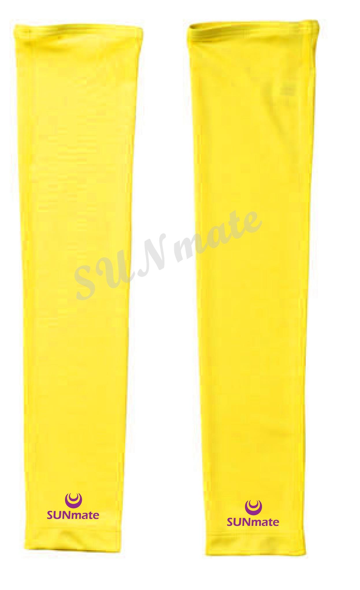 ปลอกแขนกัน UV size XXL : Yellow moon