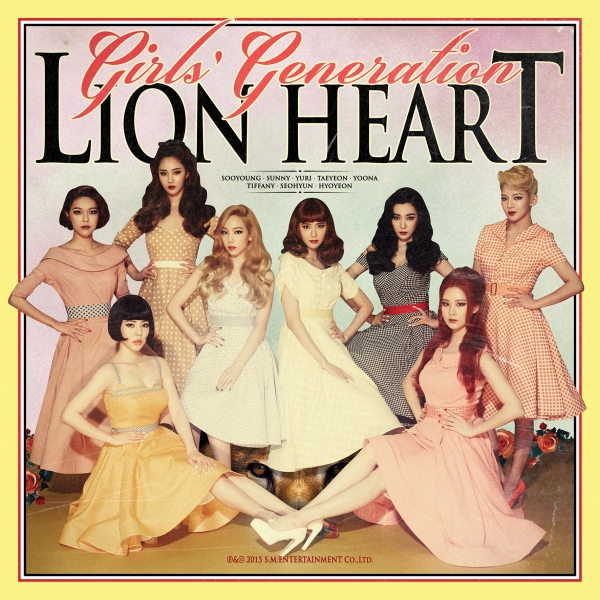 Girls' Generation - Album Vol.5 Lion Heart
