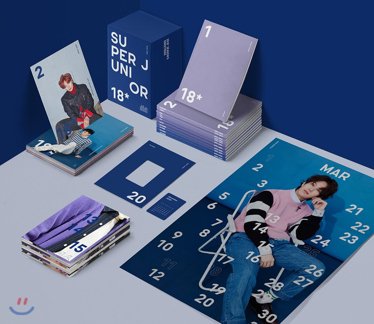 Super Junior - 2018 SEASON GREETING