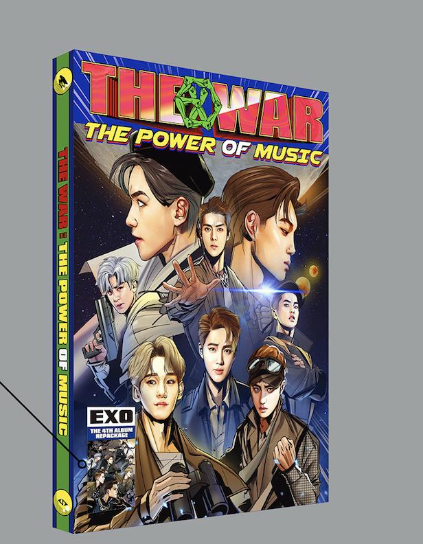 EXO - Album Vol.4 Repackage [THE WAR: The Power of Music] แบบ Chinese Ver. + โปสเตอร์พร้อม
