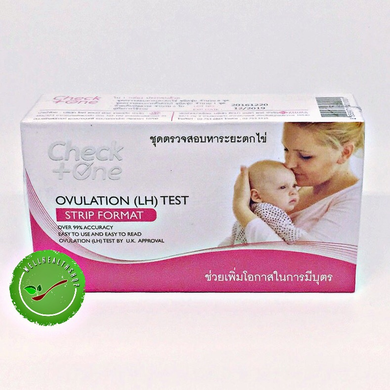 Check One ชุดตรวจสอบหาระยะไข่ตก Ovulation(LH)Test
