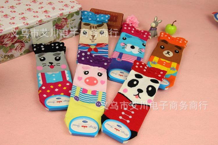 S036**พร้อมส่ง** (ปลีก+ส่ง) ถุงเท้าแฟชั่นเกาหลี แบบข้อย่น มี 6 แบบ เนื้อดี งานนำเข้า(Made in china)