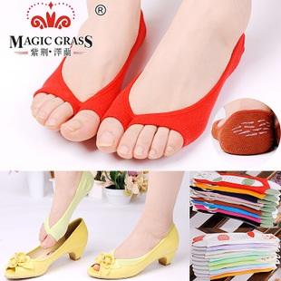 S241**พร้อมส่ง** (ปลีก+ส่ง) ถุงเท้าคัทชู แบบหูหนีบ แฟชั่นเกาหลี เนื้อดี งานนำเข้า(Made in China)