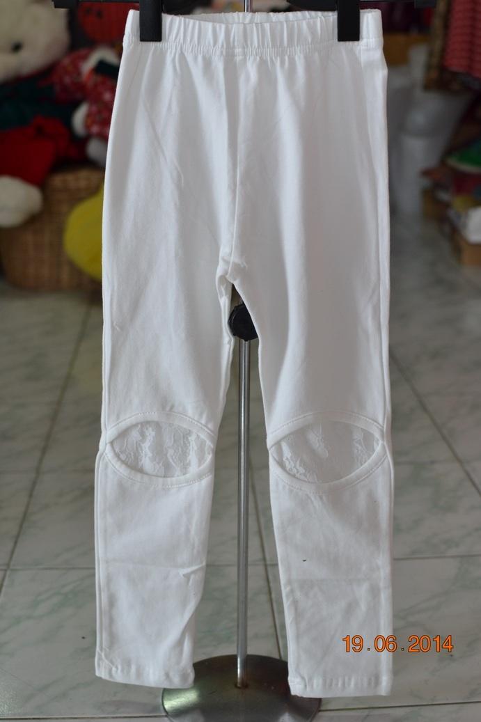 X004**พร้อมส่ง** (ปลีก+ส่ง) เลคกิ้งยาว เด็กหญิง วัย 2-8 ปี แฟชั่นเกาหลี แพ็ค 5 ตัว เนื้อดี งานนำเข้า(Made in China)