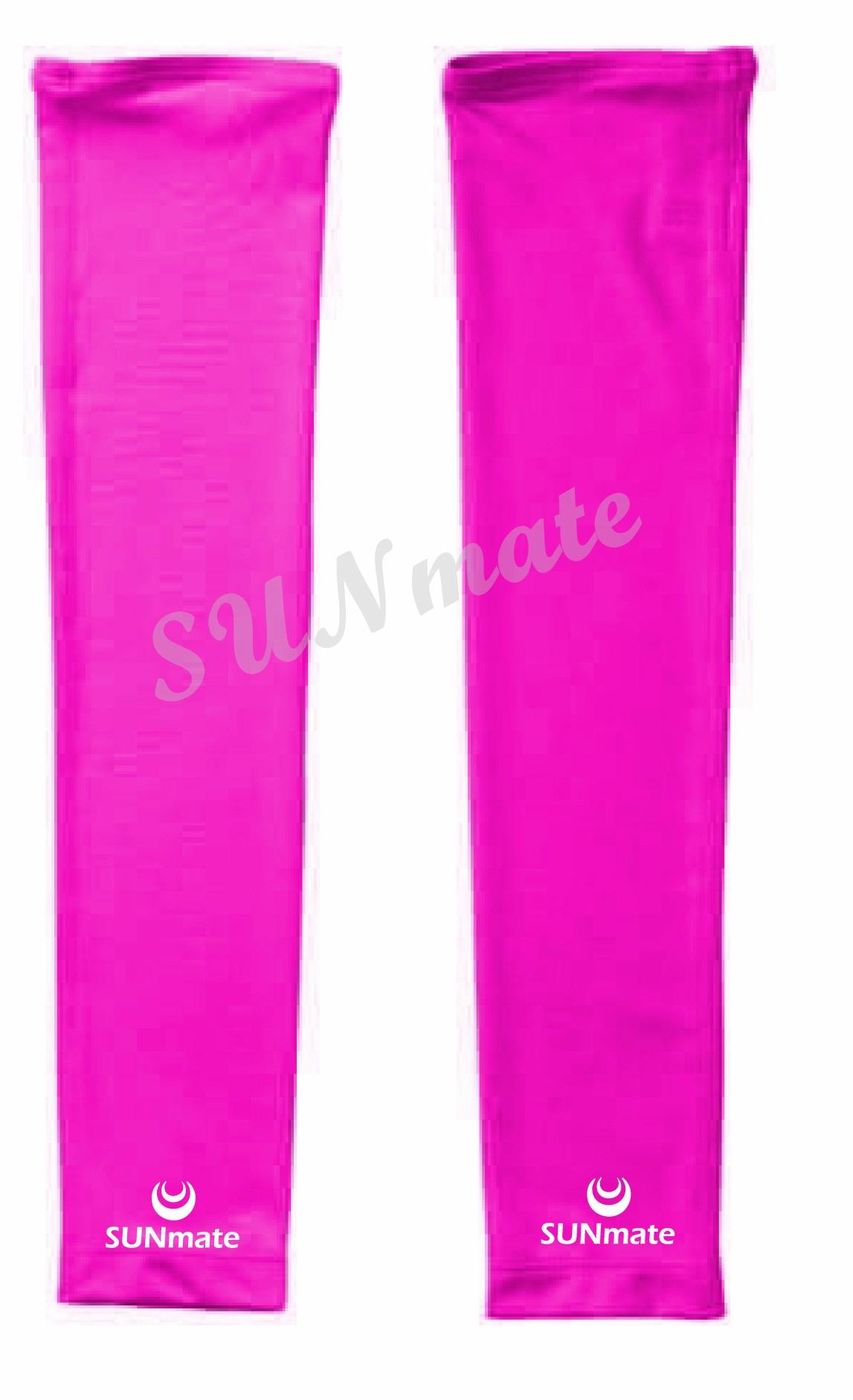 ปลอกแขนกันUV size XL : Orchid pink