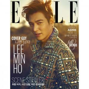 นิตยสารเกาหลี ELLE : September หน้าปก Lee Min Ho