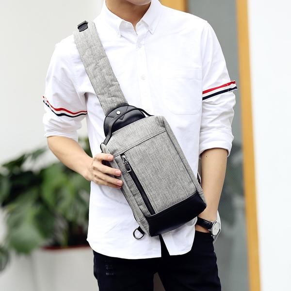 Pre-order กระเป๋าผู้ชายคาดอกแฟชั่นเกาหลี ใส่ ipad 8 นิ้ว รหัส Man-1025
