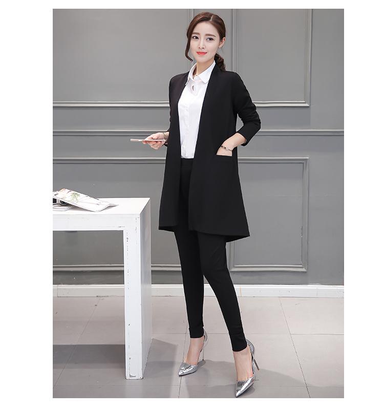 ชุดทำงาน set เสื้อสูท และกางเกงสีดำ (ไม่รวมเสื้อสีขาวตัวในครับ)