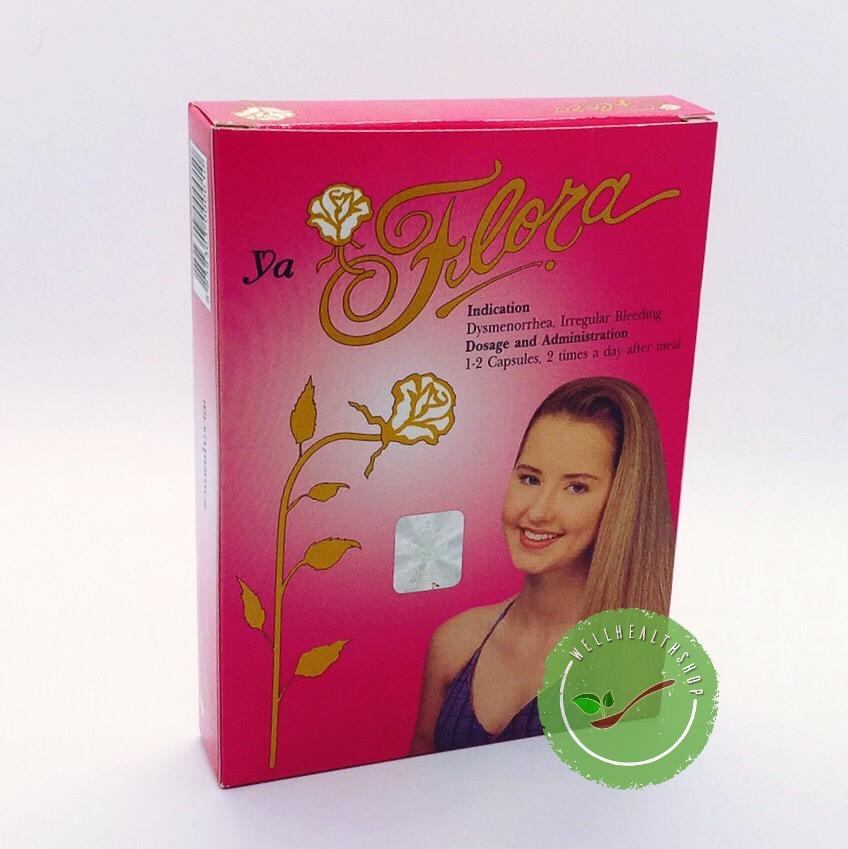 ยาฟลอร่า 30 cap flora สำหรับสตรี