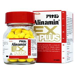 Alinamin Ex Plus อะลินามิน เอ็กซ์ พลัส