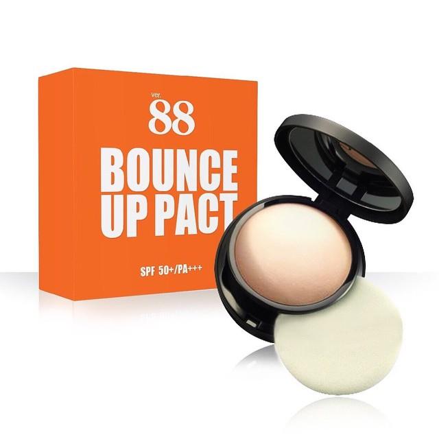 แป้งดินน้ำมัน Ver.88 Bounce Up Pact แป้งพัพ แป้งโฟโต้ช้อป ฟรีEMS