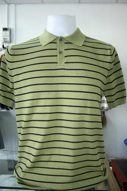 เสื้อยืดผู้ชาย แขนสั้น Cotton เนื้อดี ถักไหมพรม งานคุณภาพ รหัส MC071 Size M
